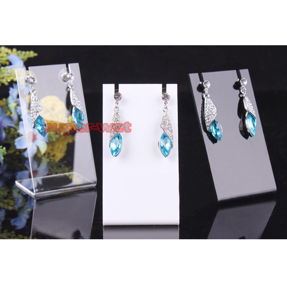 Exhibition Stand Organizer : Pcs acrylic holder display stand organizer rack earring