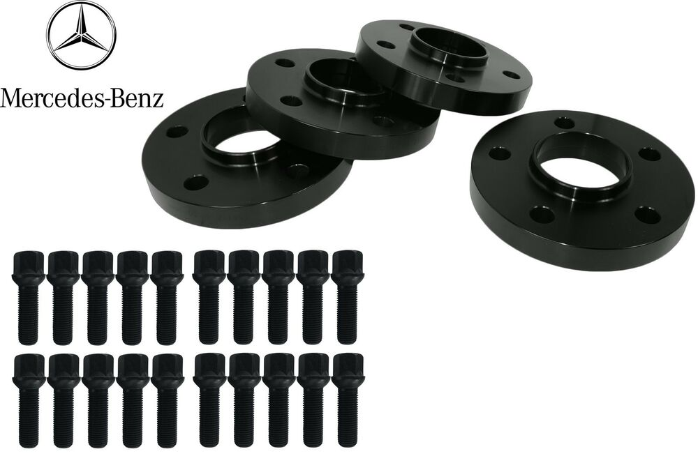 Mercedes benz c series w204 wheels spacer kit for oem for Wheel spacers for mercedes benz