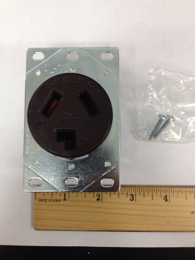 Pass  U0026 Seymour 3860g Dryer Outlet Receptacle 10