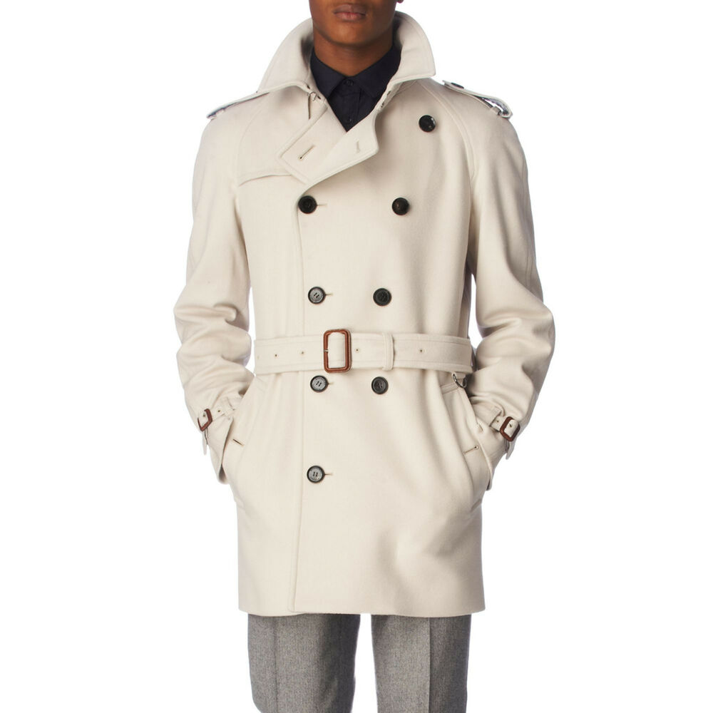 Custom trench coats- A custom trench coat is an option few men think of, but they can be as affordable if not more affordable than buying a brand name coat. The main advantage of the custom option (besides perfect fit) is the ability to ask for unique features and style options.