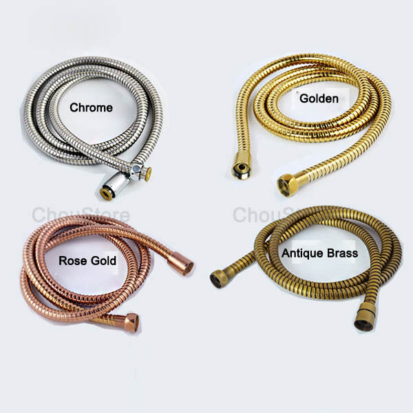 Hand shower replacement water hose stainless steel braided - Hand shower hose ...