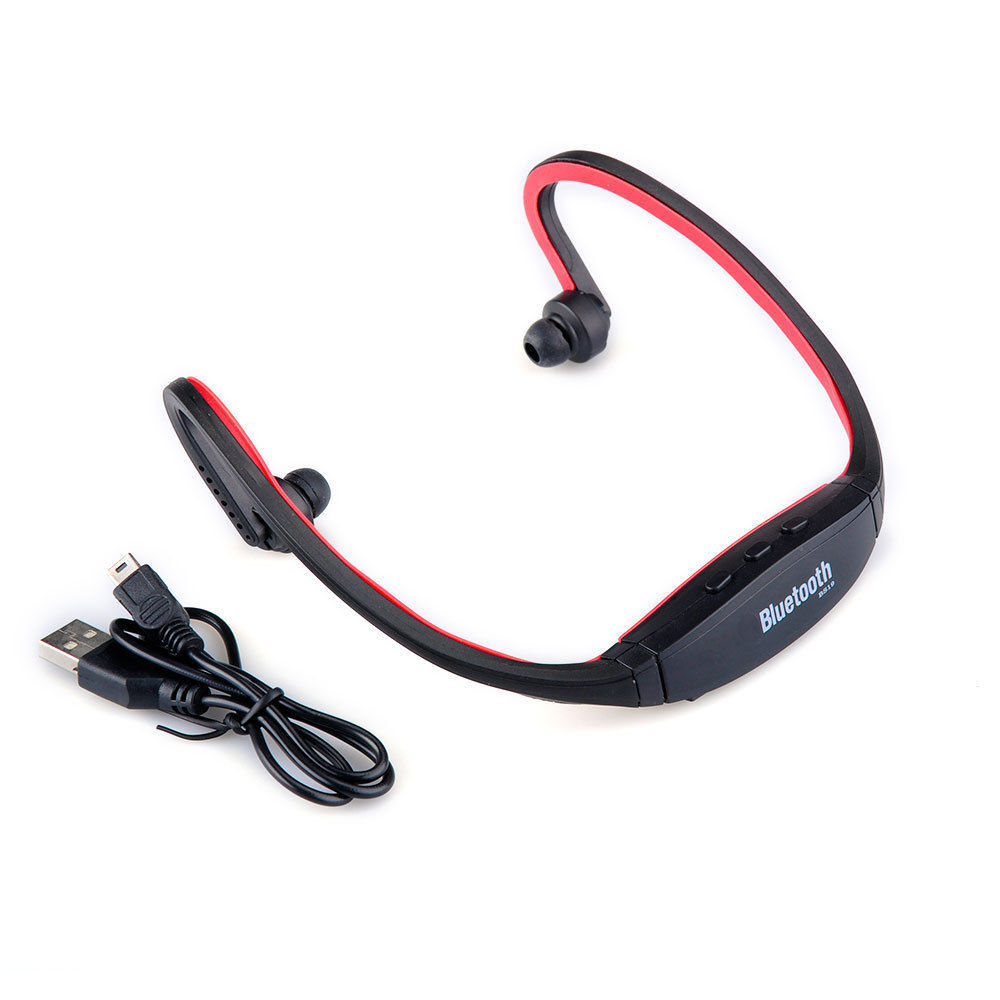 wireless bluetooth headset sport stereo headset earphone. Black Bedroom Furniture Sets. Home Design Ideas