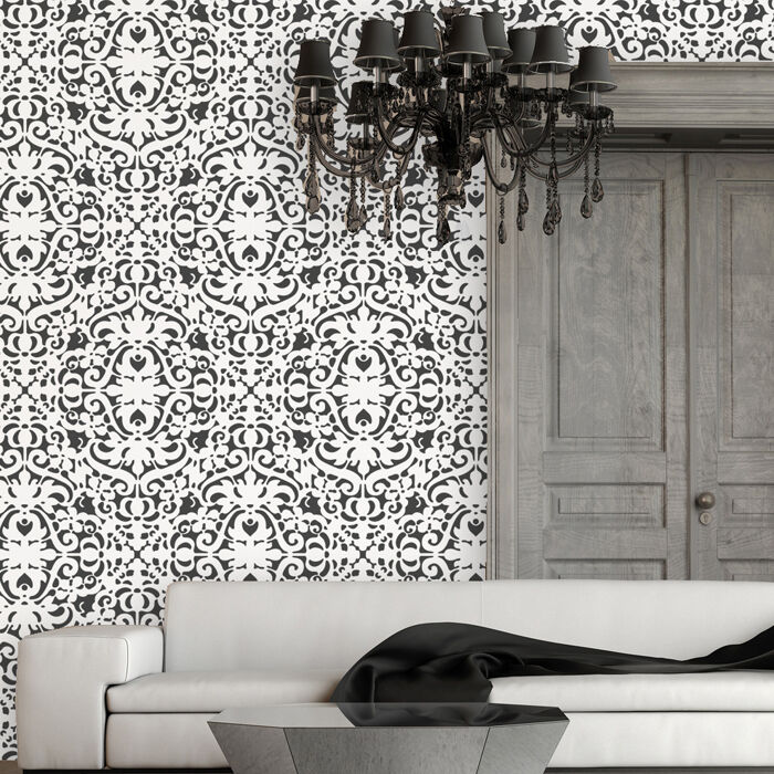 wallpaper that looks like stencils - photo #9
