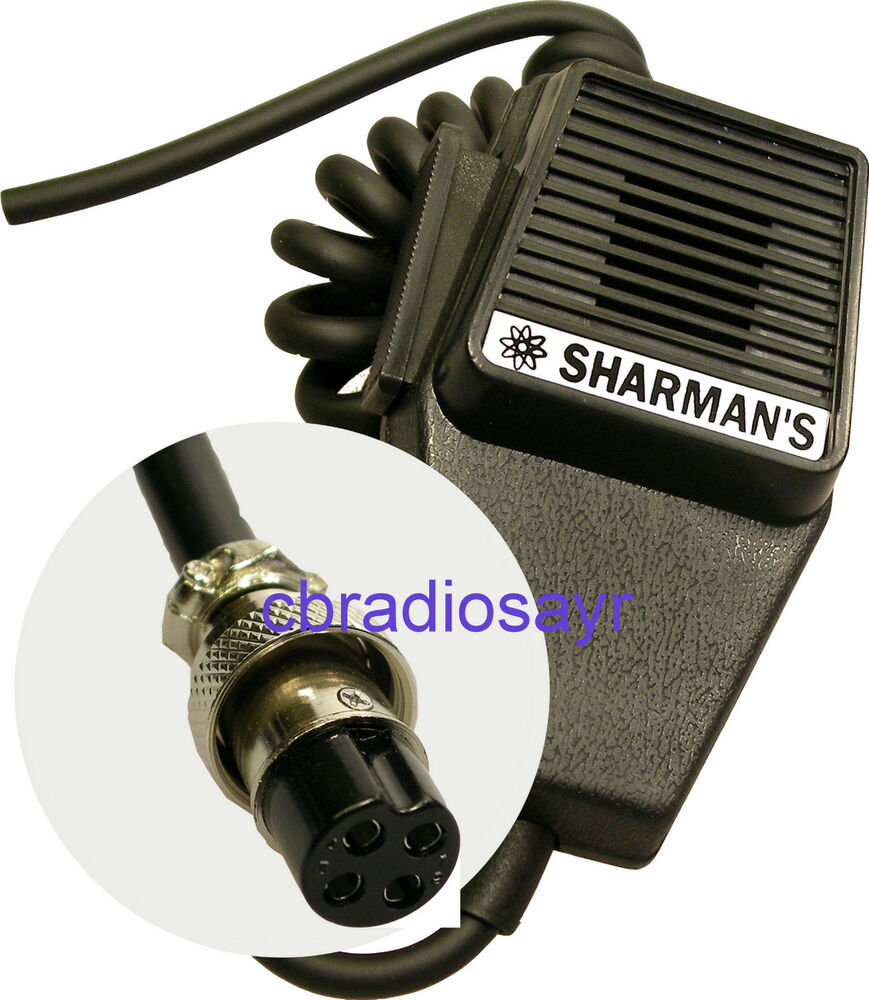 replacement cb microphone 4 pin standard wiring amstrad. Black Bedroom Furniture Sets. Home Design Ideas