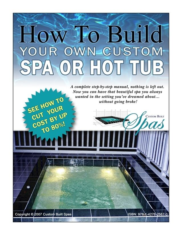 How to build your own custom hot tub swim spa plunge Build your own salon