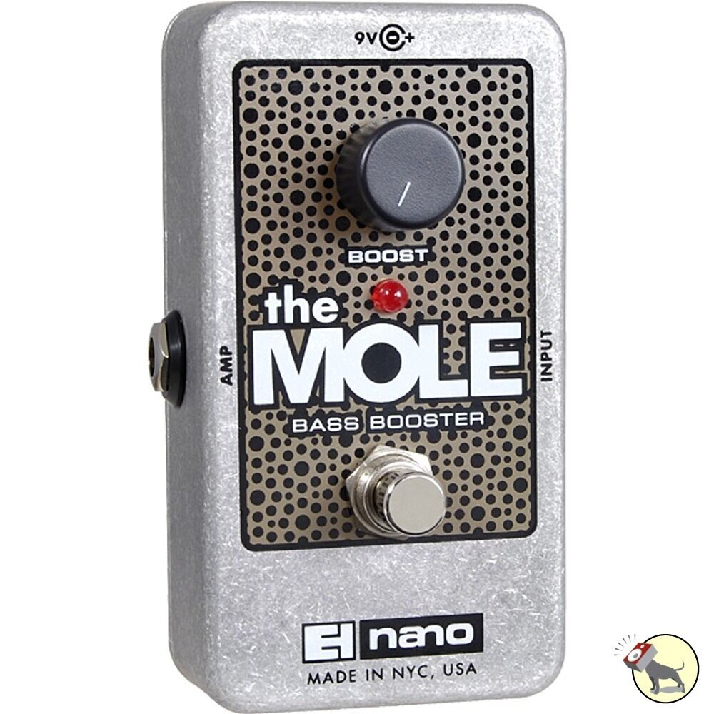 electro harmonix mole bass booster guitar effect pedal true bypass nano 20 db 683274010939 ebay. Black Bedroom Furniture Sets. Home Design Ideas