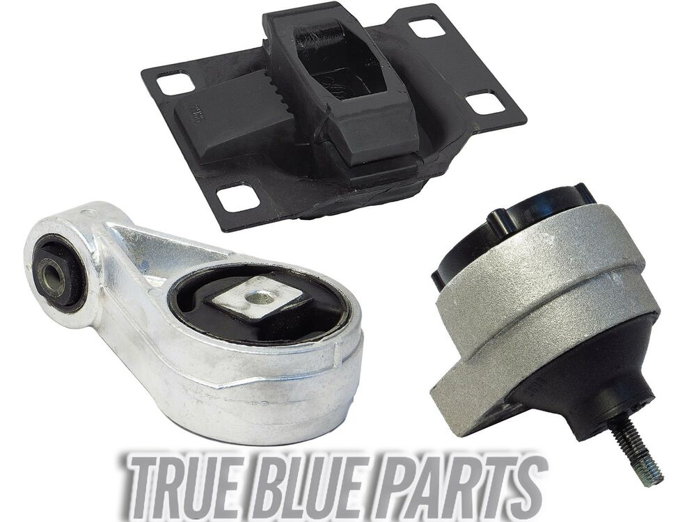 Engine transmission motor mount kit for 00 04 ford focus for Motor mounts ford focus
