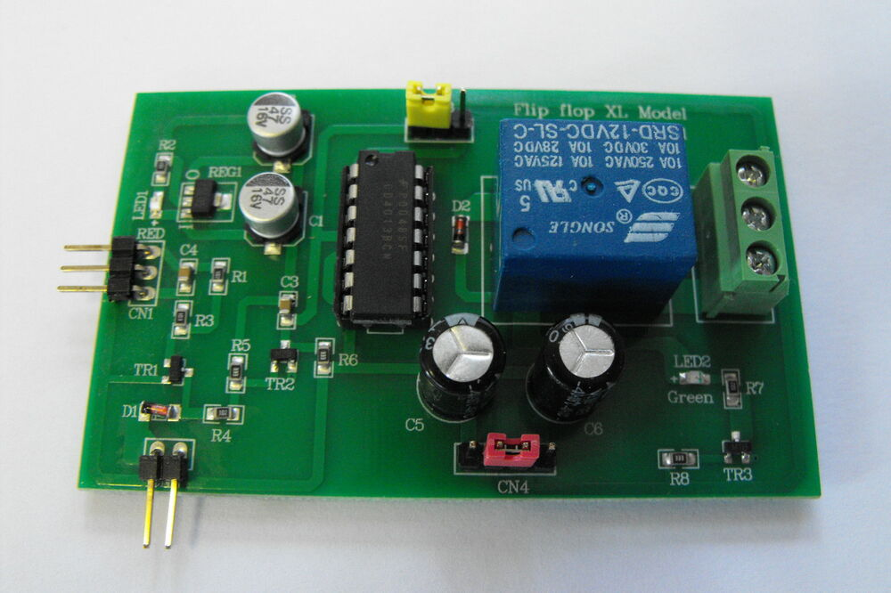 relay module on off flip flop bistable switch low high low 3 mode ebay Monostable Relay vs Bistable Relay Bistable Relay Circuit