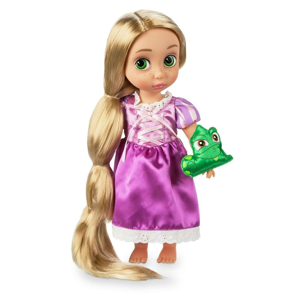 new disney store rapunzel animators collection doll 38cm tall age 3 ebay. Black Bedroom Furniture Sets. Home Design Ideas