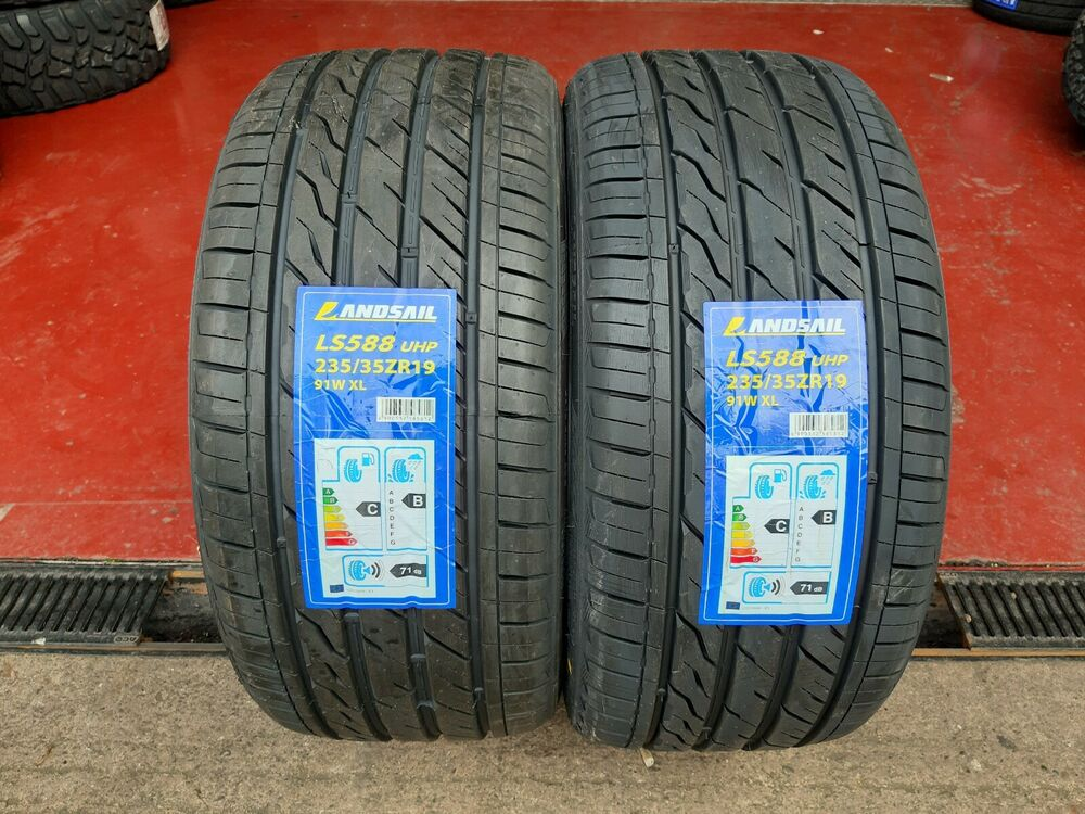 x2 235 35 19 235 35zr19 91w xl landsail tyres amazing c b ratings very cheap ebay. Black Bedroom Furniture Sets. Home Design Ideas