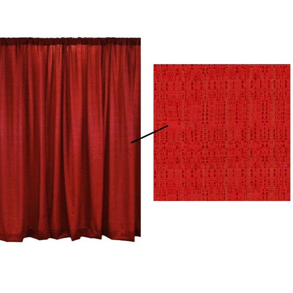 8 foot high x 4 foot wide economy drape curtain for pipe and drape displays ebay