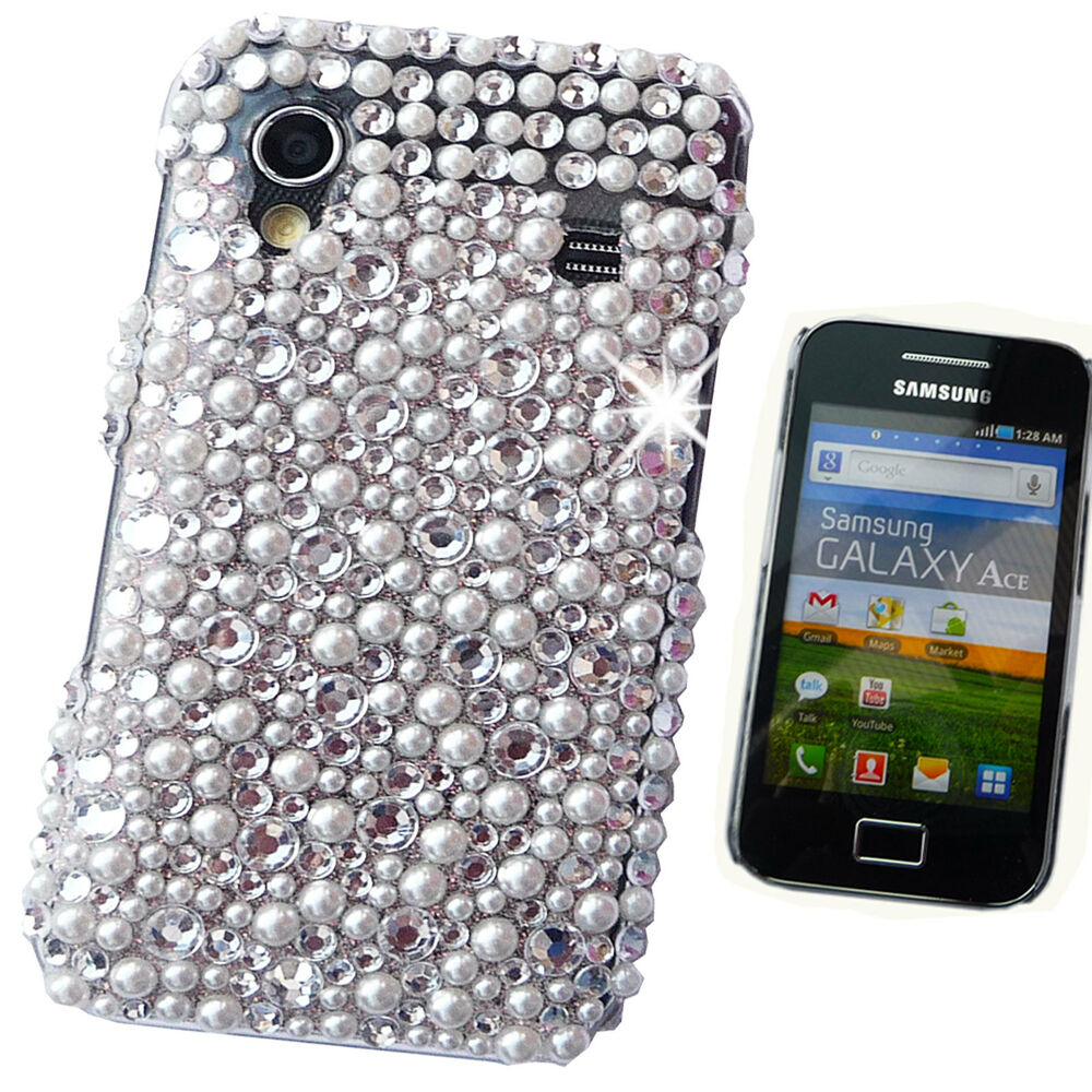 Samsung samsung galaxy s3 bling phone cases : NEW BLING PEARL COOL 3D DIAMANTE CASE COVER SAMSUNG GALAXY S2 S3 S4 S5 ...