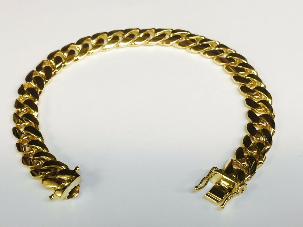 14k solid gold handmade miami cuban curb link 14k solid gold handmade miami cuban curb link mens