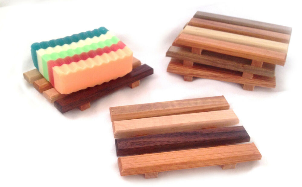 4 Wood Soap Dishes Handcrafted From Reclaimed Wood