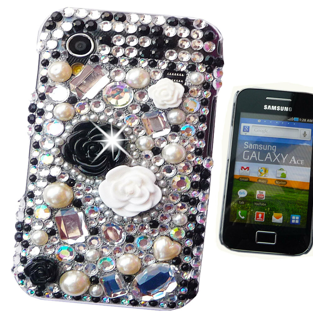 Cooling Case For Samsung Galaxy S3 : New cool d black diamante case cover samsung galaxy s