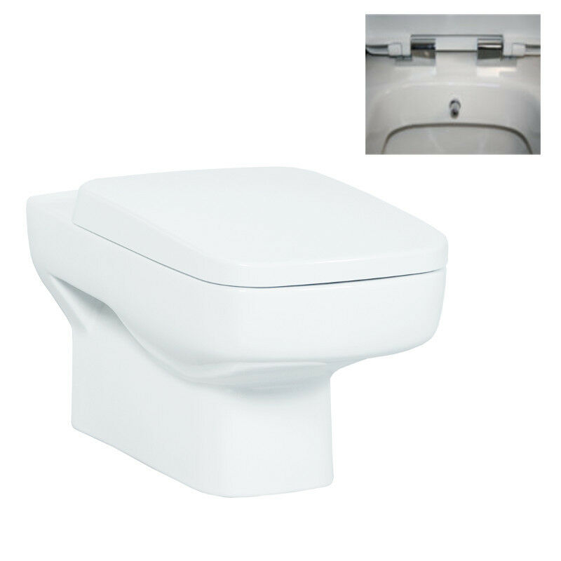 SLIM LINE WALL HUNG ALL IN ONE COMBINED BIDET TOILET WITH