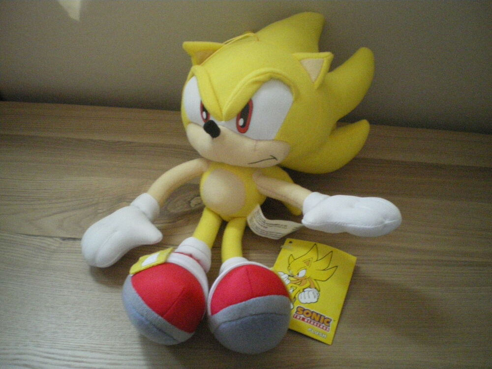 sega official licensed sonic the hedgehog 12quot plush toy