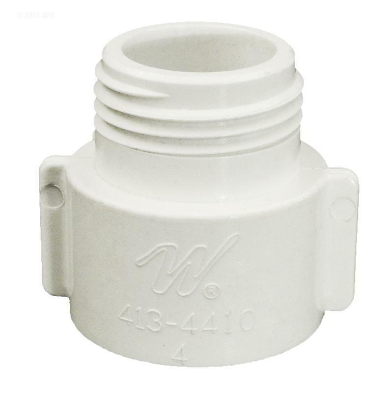 Pool spa fish tank drain adapter 3 4 pvc to garden hose bib fitting 413 4410 ebay for How to drain a swimming pool with a hose