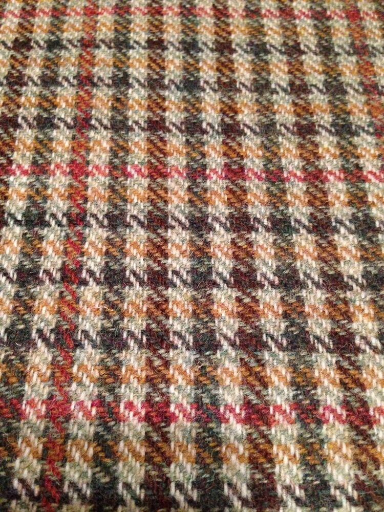 Wool Country Tweed Curtain Upholstery Fabric 3 Cols