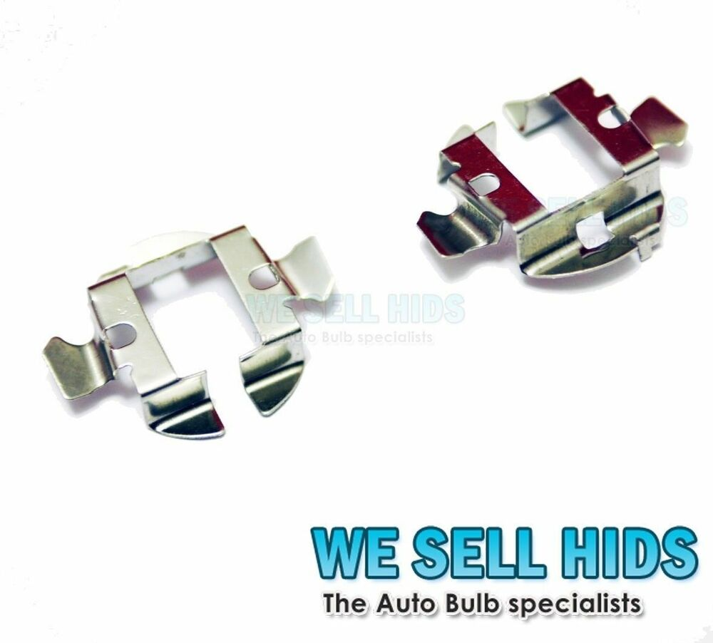 H7 Metal Hid Bulb Base Holder Adapter Retainer Clips Bmw Mercedes Audi Vw Xenon Ebay