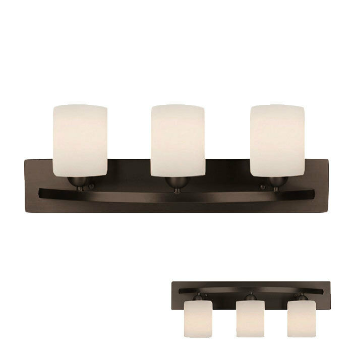 Oil rubbed bronze 3 globe bath vanity light bar fixture for Bar fixtures
