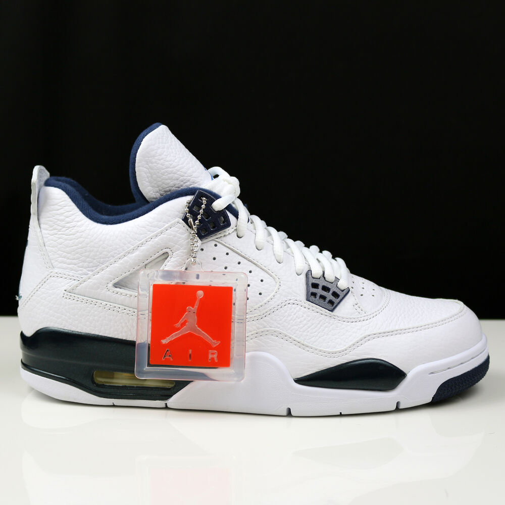 reputable site 70935 5d836 Details about Nike Air Jordan 4 IV Retro Legend Blue Columbia bred DS New  314254-107 sz US10