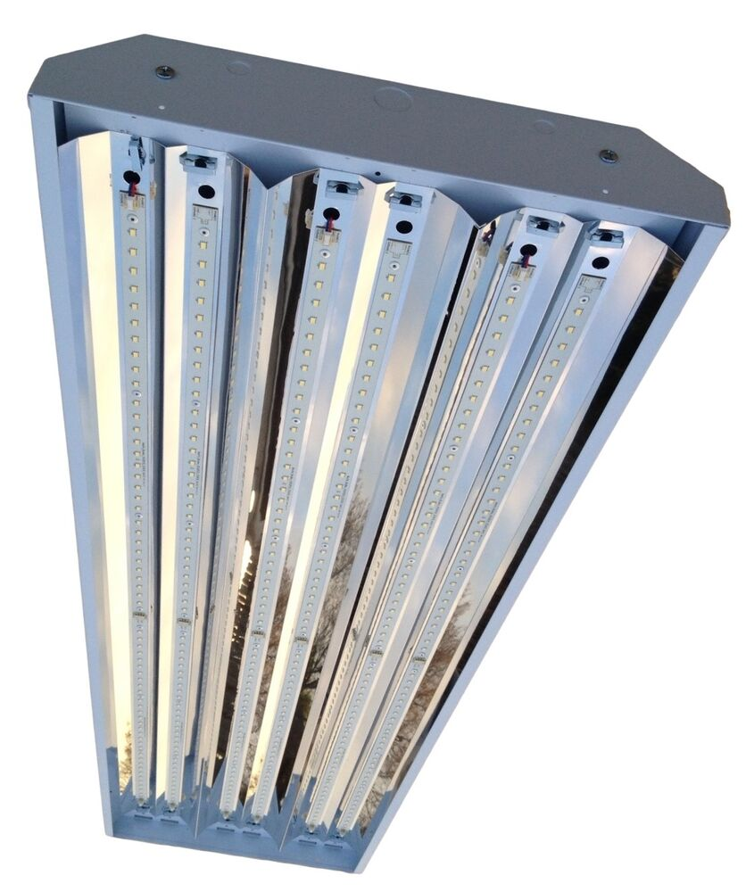 150w Linear Led Light Fixture: 150W 6 Lamp LED Linear High Bay Fixture