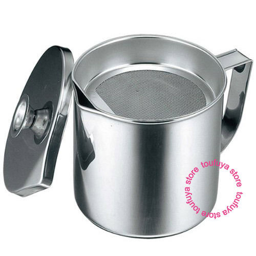 New kitchen stainless steel cooking frying oil pot with