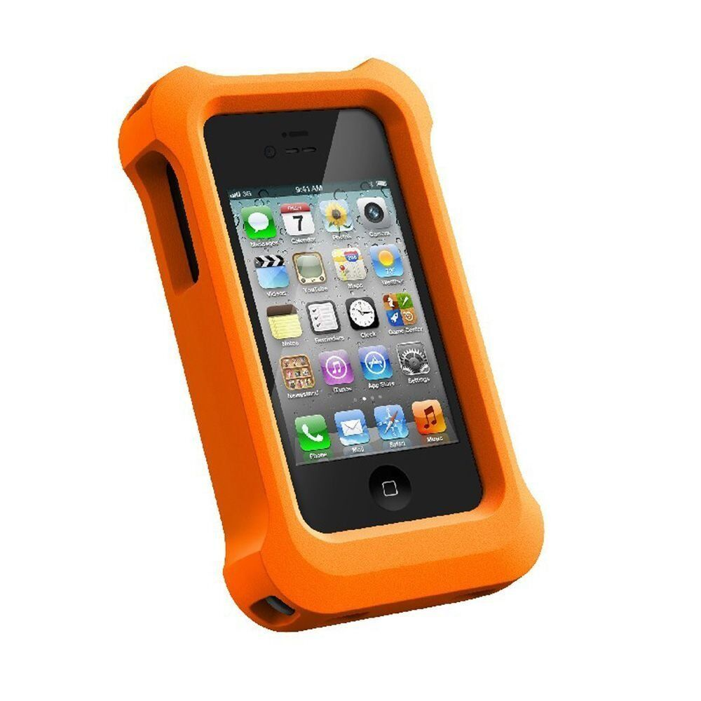 iphone 4s lifeproof case lifeproof iphone 4 4s lifejacket float orange ebay 2803