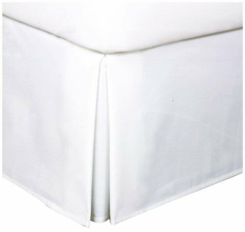 bed skirts queen levinsohn easy care tailored microfiber 14 inch bedskirt 10699