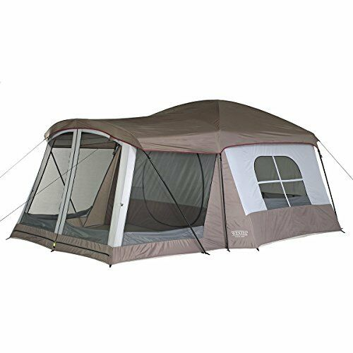 16 Person Instant Tent : Wenzel klondike cabin tent feet person family