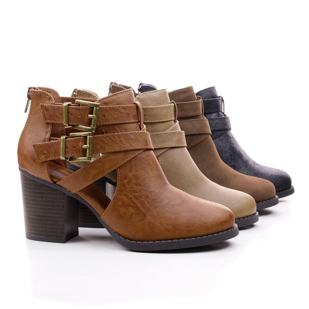 Stacked Heel Shoes