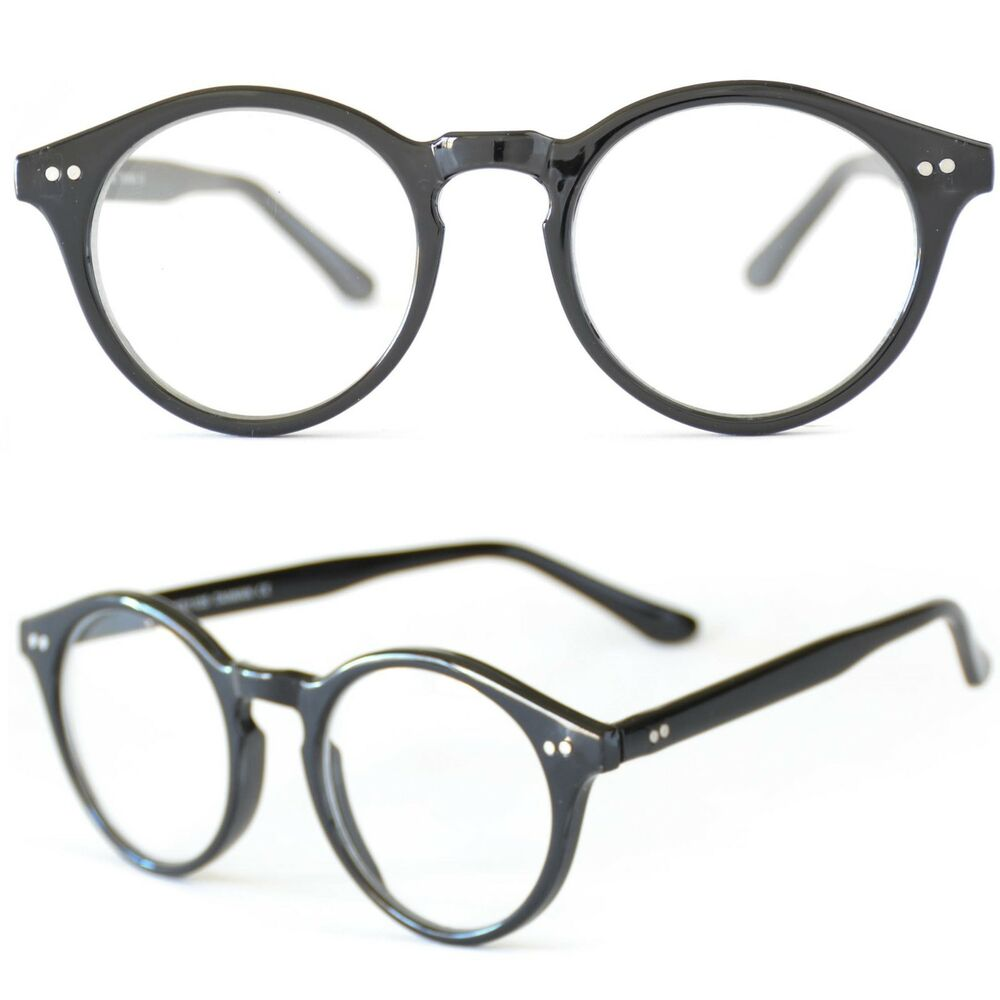 Round Eyeglasses. Round glasses frames are the original eyeglasses design. In the early 20th century, round glasses were the only shape you could find.