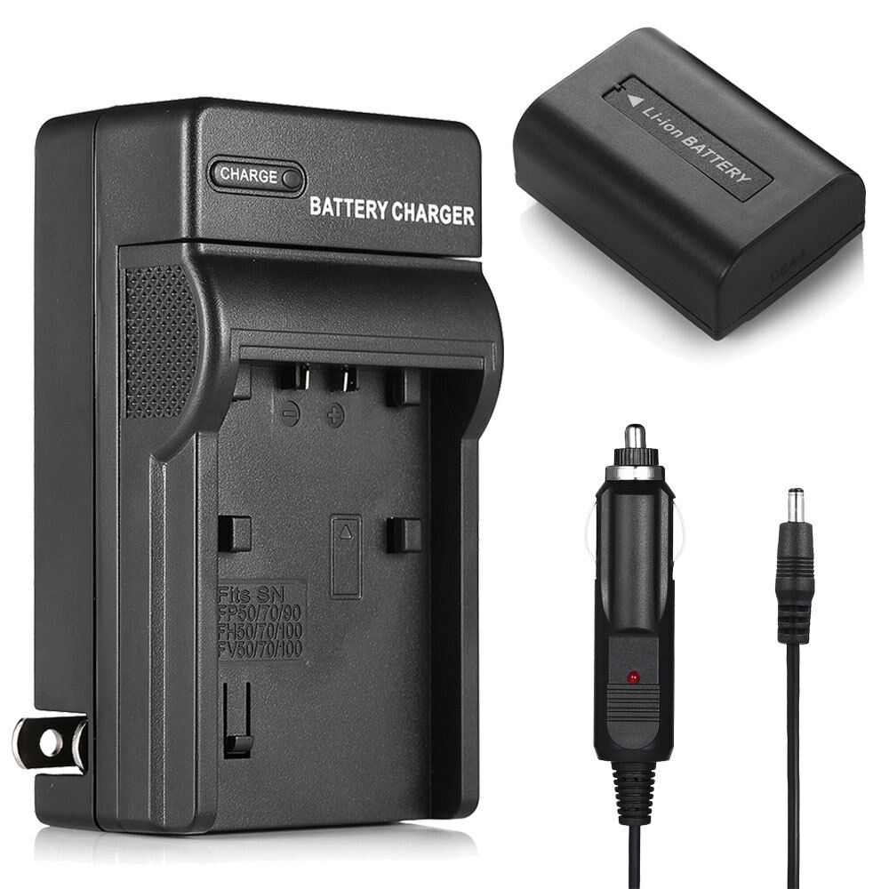 Battery Charger For Sony Np Fh50 Np Fh40 Np Fh30 A230