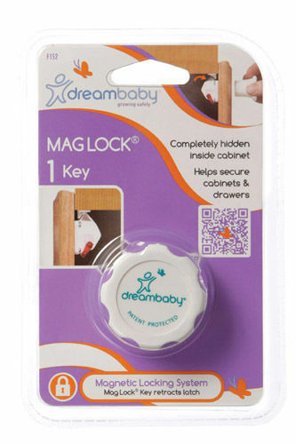 Dreambaby Mag Lock Key Child Proof Safety Magnetic