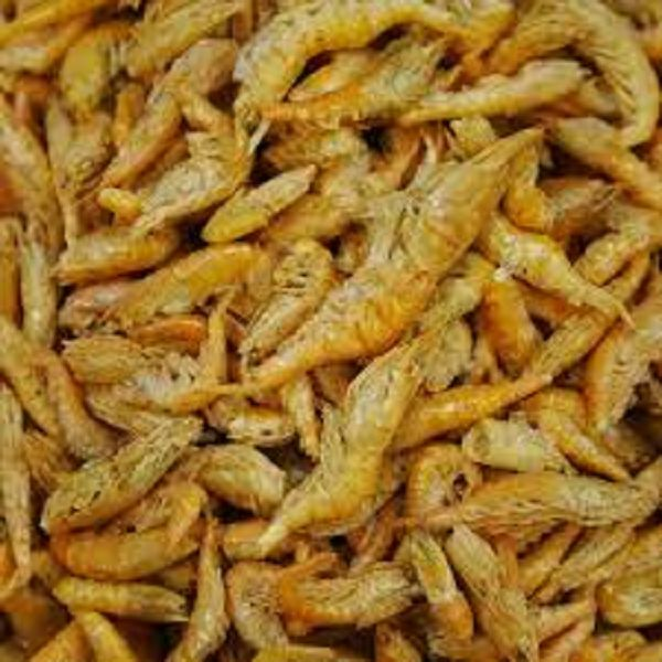 Freeze dried shrimp 2 to 3 cm koi fish turtle food ebay for How to freeze fish