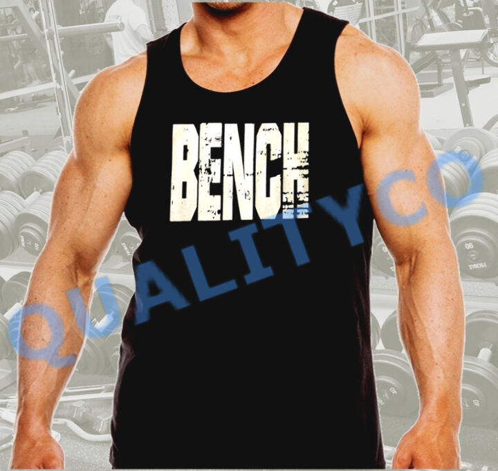 Gym Muscle Bodybuilding Black Mesh Fitness Power Lifting: Men's Bench Weight Lifting Workout Bodybuilding Gym Black