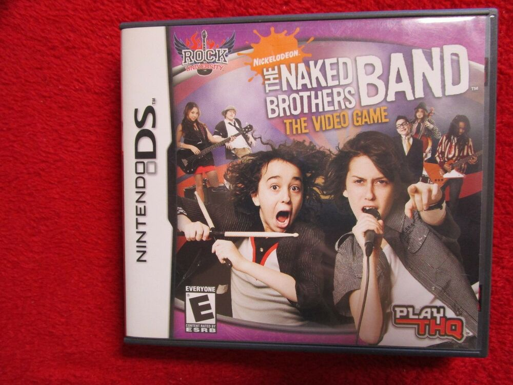 Rock University The Naked Brothers Band Nintendo Ds, Dsi -1694