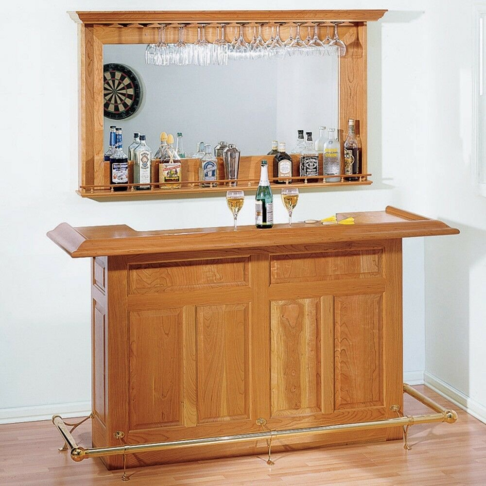 Home Bar Plan - Media Woodworking Plans Indoor Project Plans | eBay
