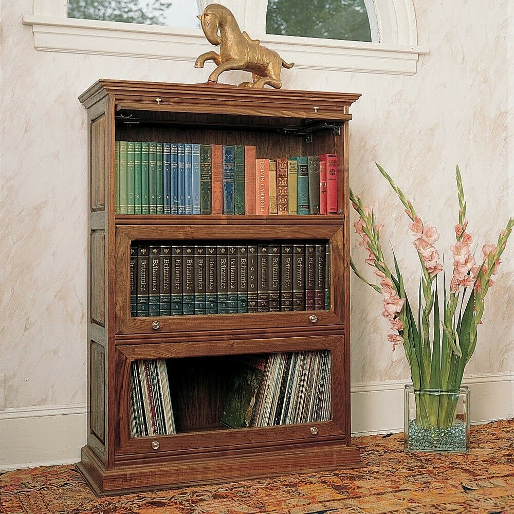 ... Bookcase Plan - Media Woodworking Plans Indoor Project Plans | eBay