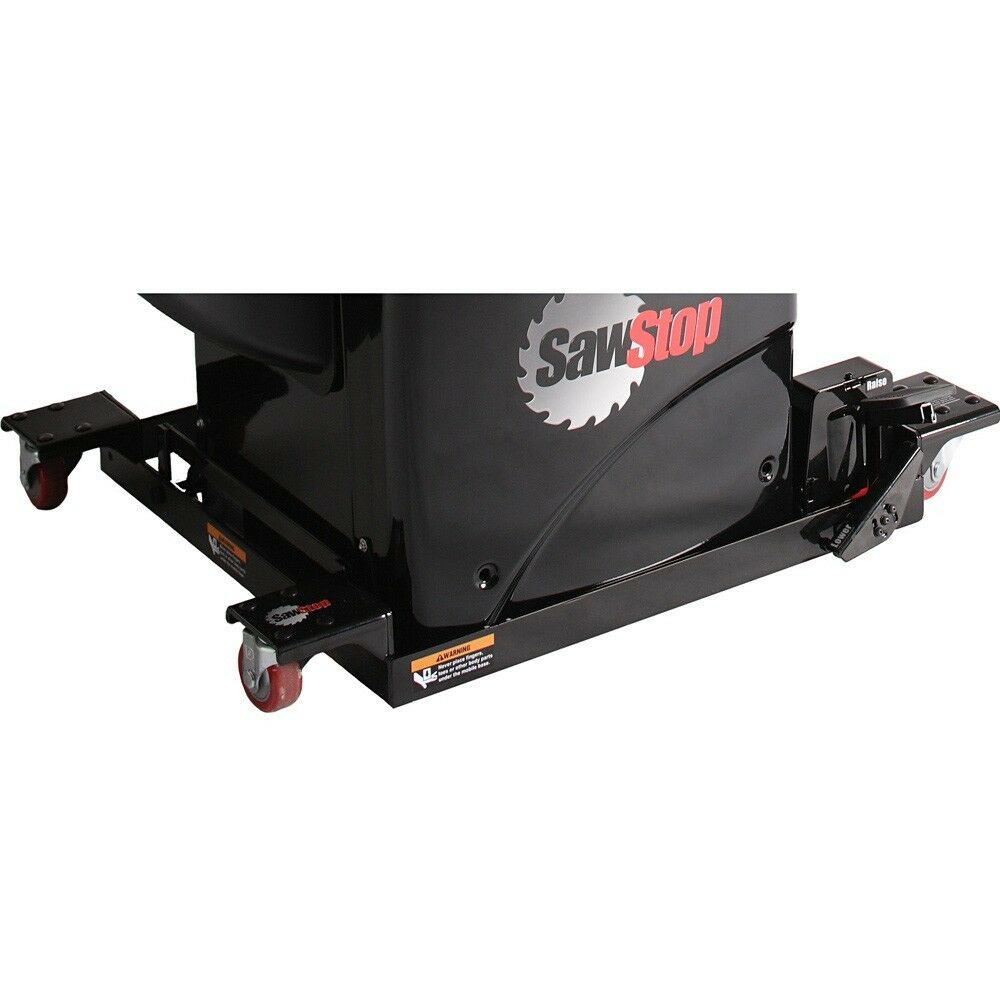 Sawstop Table Saw Industrial Mobile Base W Professional Pcs Conversion Kit Ebay
