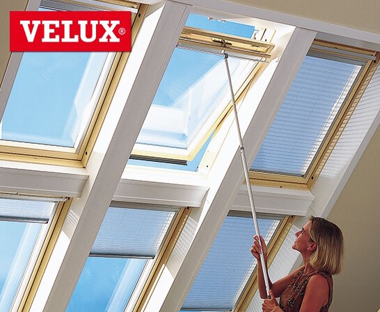 Velux zct 200 telescopic pole rod control 100 180 cm for Velux skylight control rod