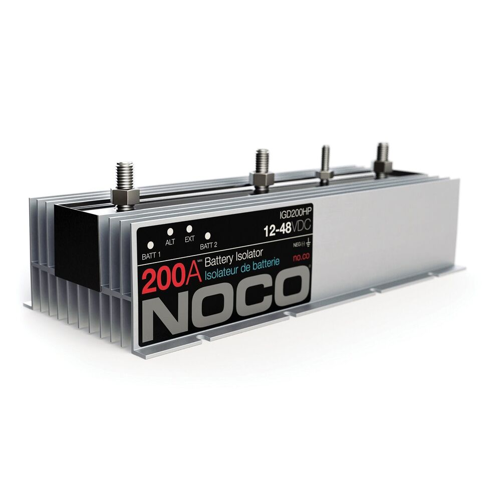 noco igd200hp 200 amp battery isolator new free shipping ebay. Black Bedroom Furniture Sets. Home Design Ideas