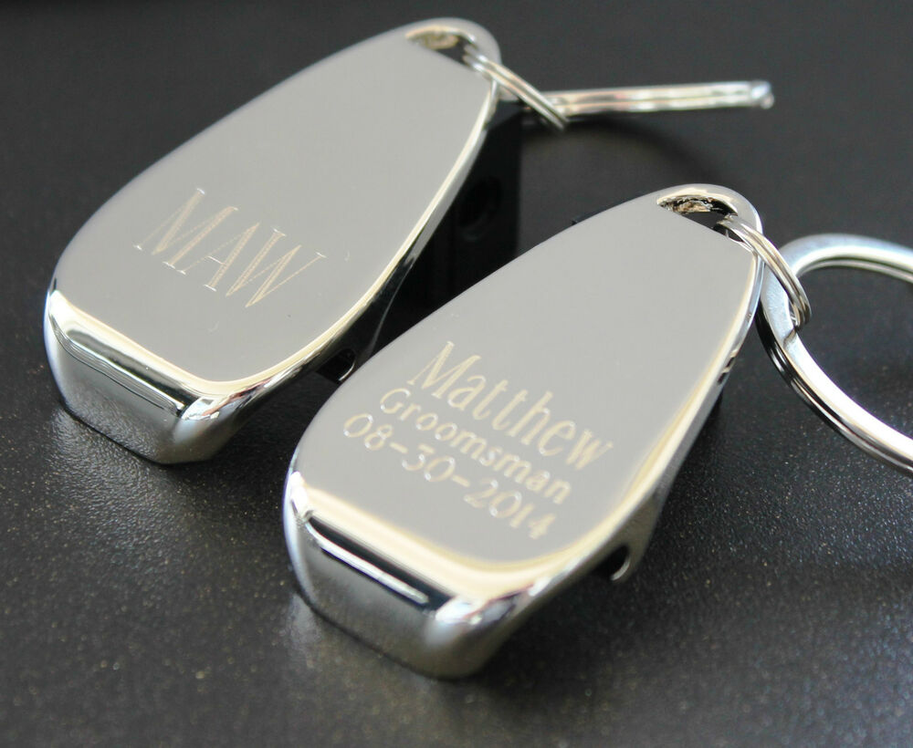 personalized bottle opener key chain groomsmen gifts wedding party gifts b ebay. Black Bedroom Furniture Sets. Home Design Ideas
