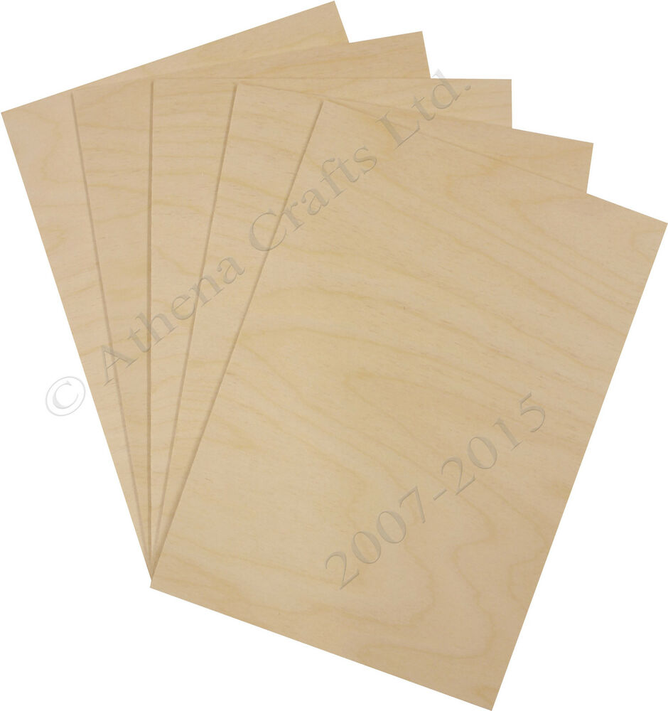 A4 Birch Plywood Sheets