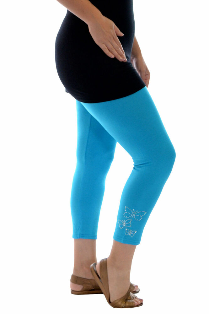 Spring's Hottest Sales on Royal Blue Studded Leggings - Plus