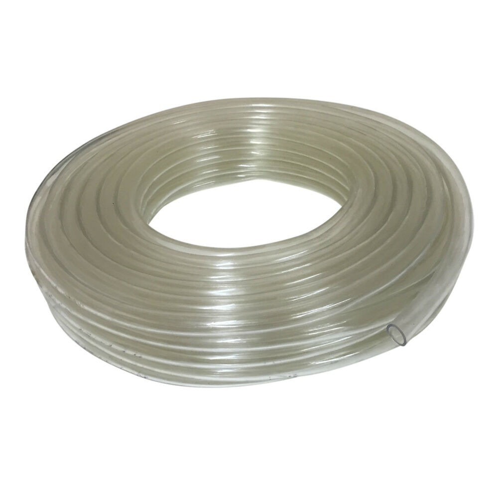 Clear pvc tubing flexible plastic hose pipe for fish tank for Garden pond hose