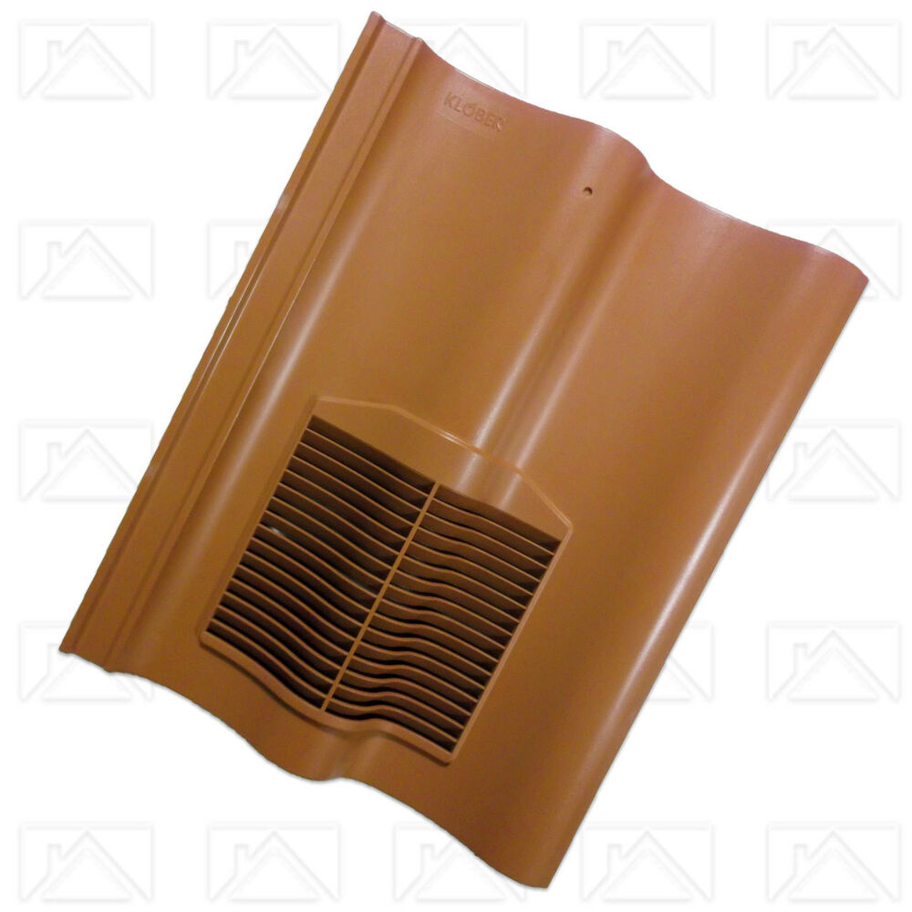 Klober Profile Line Vent Tile For Double Pantile Styled
