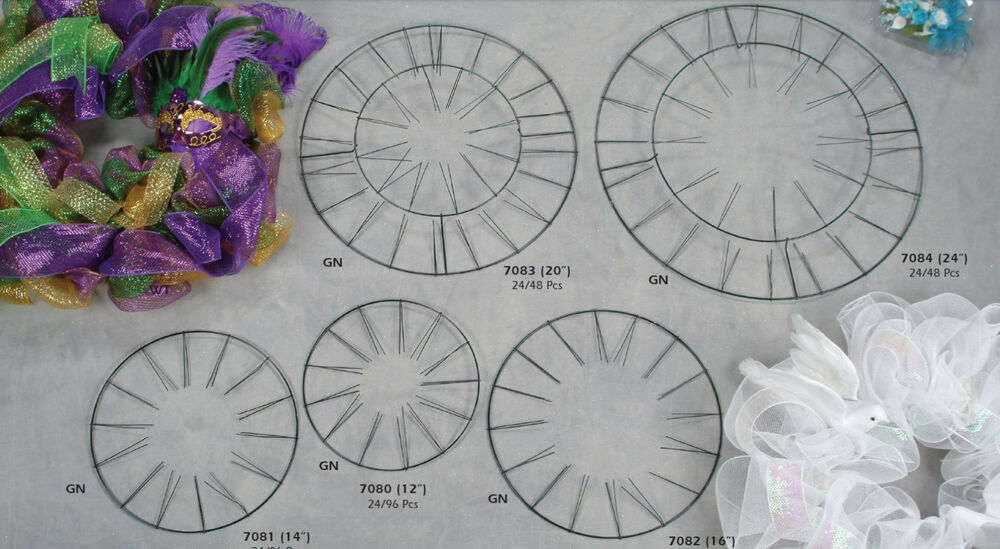 metal circle wall decor wreath circle decor metal wire frame hanging wall flower 7450