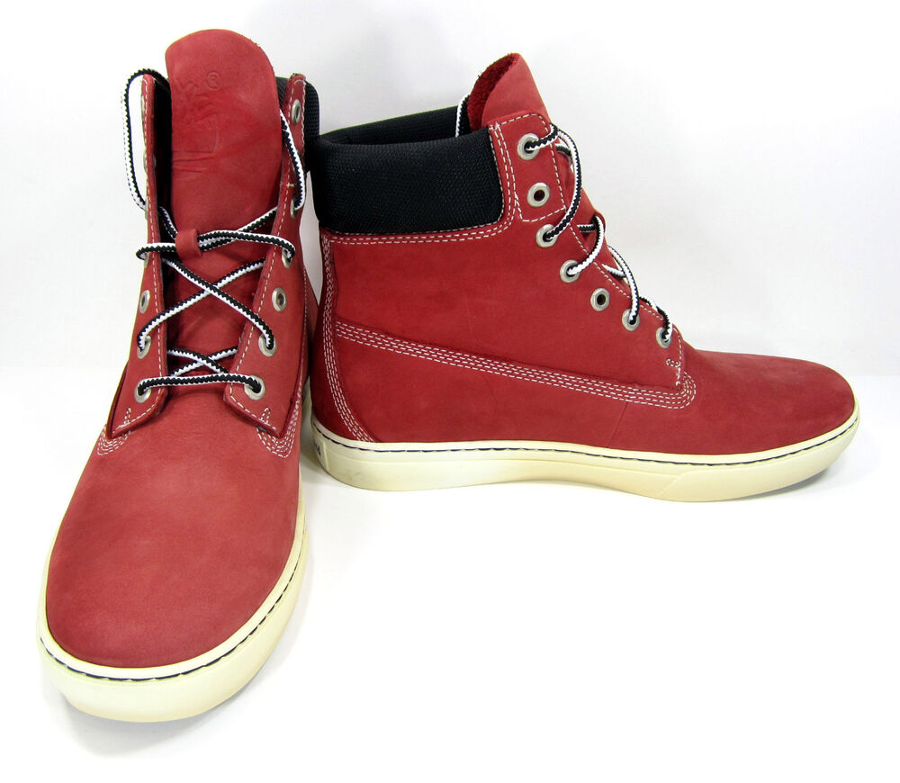 Timberland Shoes 6 Inch Premium Red Boots Size 10.5 EUR 44 ...
